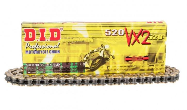 D.I.D. X-Ringkette 520VX2/118 offen mit Nietschloss
