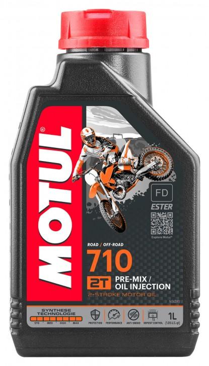 Motul 710 Factory Off Road Racing 2T Mischöl für Einspritzer
