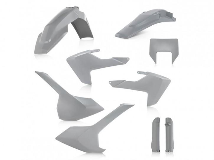 Acerbis Plastik Full Kit grau Husqvarna TE/TX 2017-