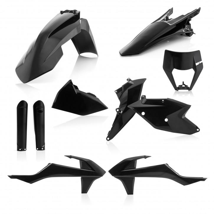 Acerbis Plastik Full Kit KTM EXC/EXC-F 17-19 schwarz