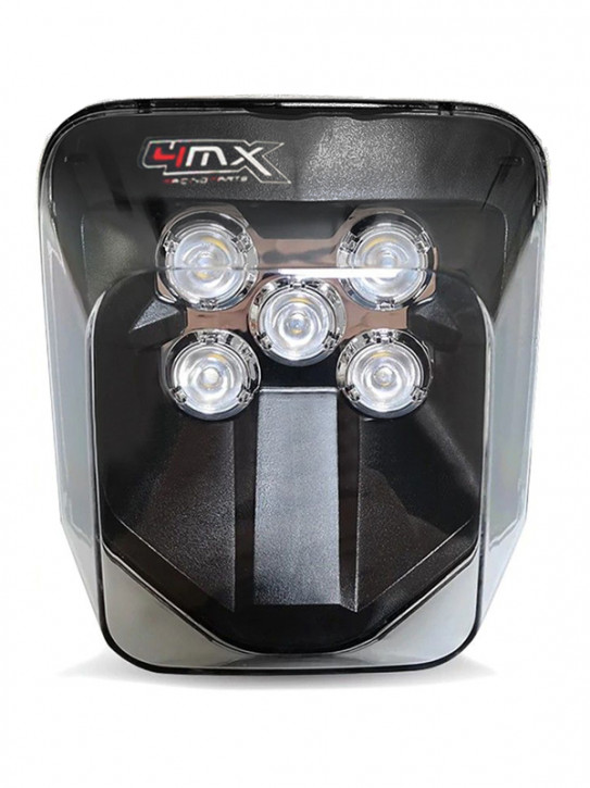 4MX LED Scheinwerfer für Husqvarna TE TC FE Enduro Supermoto 701 2017-