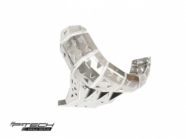 P-Tech Motorschutz mit Krümmerschutz für KTM SX EXC HVA TX TE 19-20