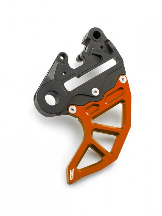 4MX Bremsscheibenschutz hinten für KTM Husqvarna Husaberg orange