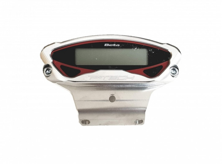 P-Tech Tacho Tachometer Aluminium Schutz für Beta RR Xtrainer 2020-