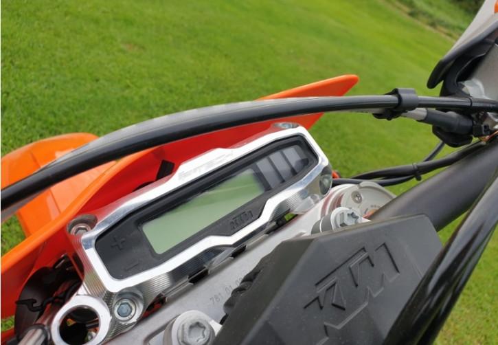 P-Tech Tacho Tachometer Aluminium Schutz für KTM EXC TPI EXC-F 2015-
