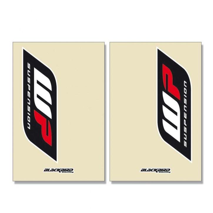 Blackbird Gabelschutzaufkleber für WP 48 Telegabel transparent