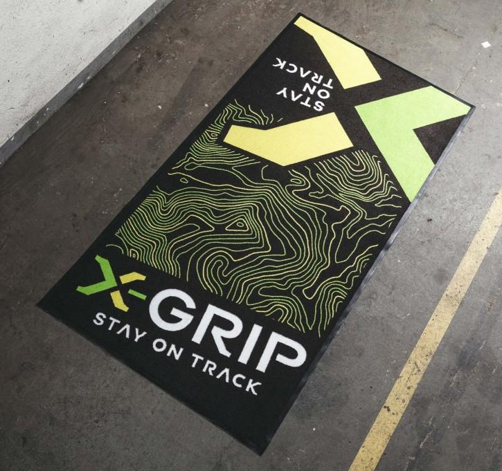 X-Grip Motorrad Teppich Matte