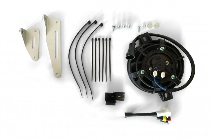 X-Grip Lüfter Komplettset Kühlerlüfter für KTM/HVA TPI TEi 250 300