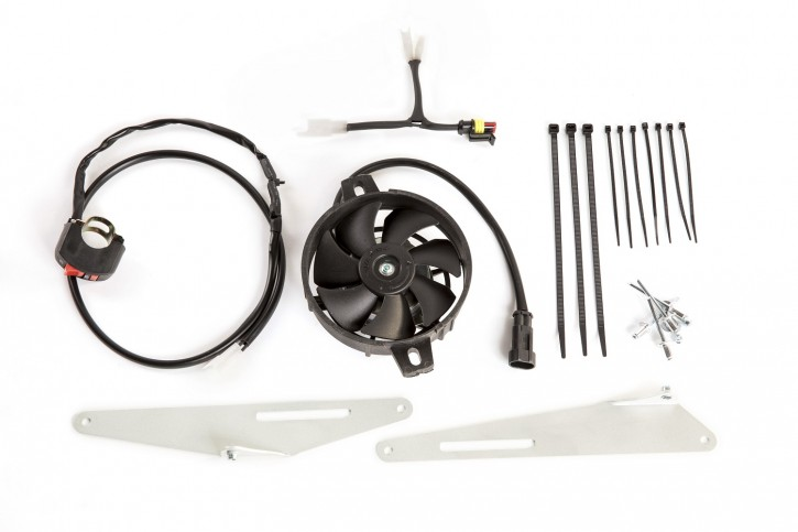 X-Grip Lüfter Komplettset Kühlerlüfter für Beta RR, 2T 250 - 300 2013-