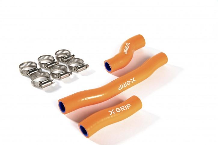 X-Grip Silikon Kühlerschläuche KTM HVA 19-20